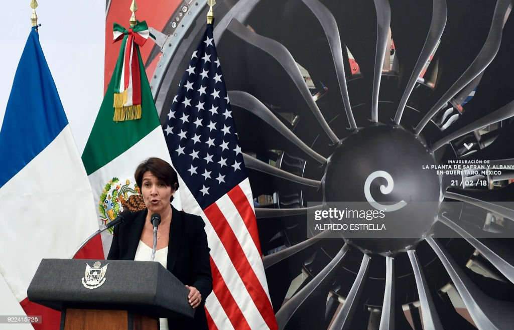 MEXICO-AEROSPACE-PLANT : News Photo