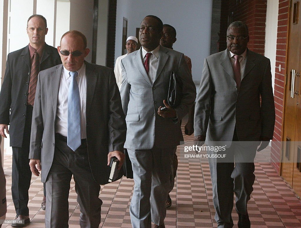 French Ambassador to the Comoros Luc Hal : News Photo