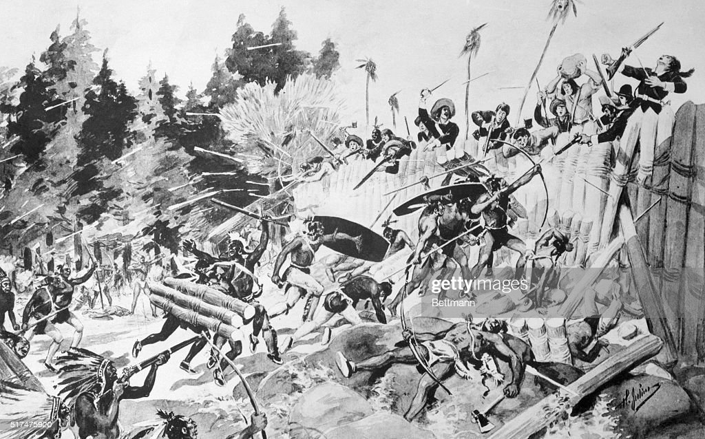 Dollard's immortal fight and death  The French leader with 16