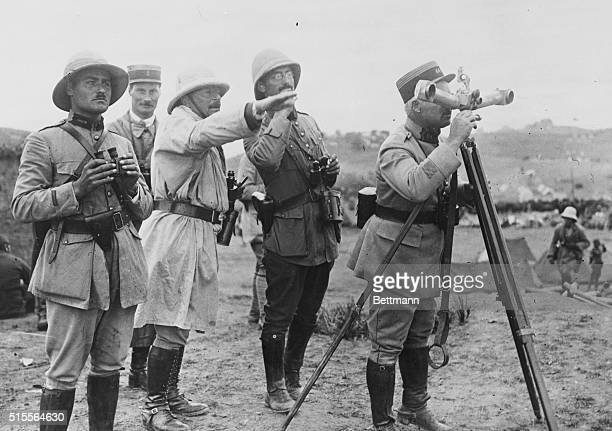 French Army officers during Algerian rebellion.