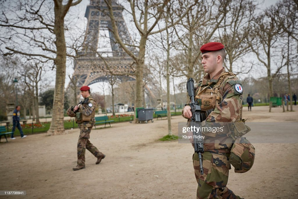 FRA: Macron Puts The Army On Paris Streets To Combat 19th Act Of The Gilets Jaunes