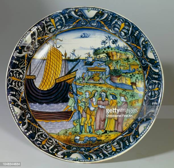 French Art Basin arrived from France at the end of August received by the king arius 1497 Quote of the Ceramique de Sevres