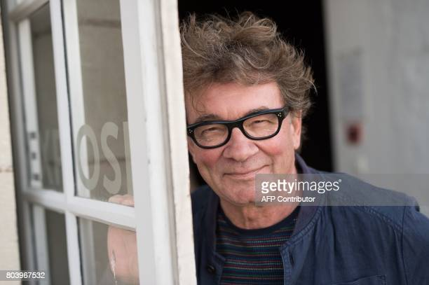 French art director Jean Blaise poses on June 29 2017 in Nantes western France during the 6th edition of the 'A journey to Nantes' art festival which...
