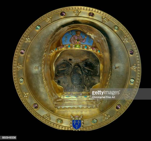 French Art John the Baptist's head Relic bring back from Constantinople 1206 Amiens Cathedral