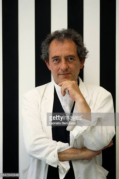 French artist Daniel Buren