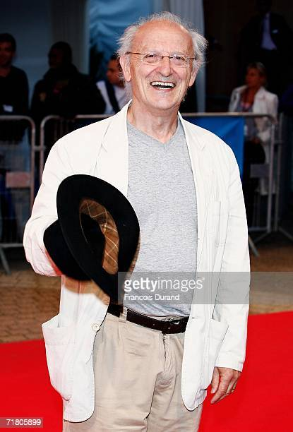 French artist Jean Giraud or Moebius as he is know arrives at the premiere for The Fountain at the 32nd Deauville Festival Of American Film on...