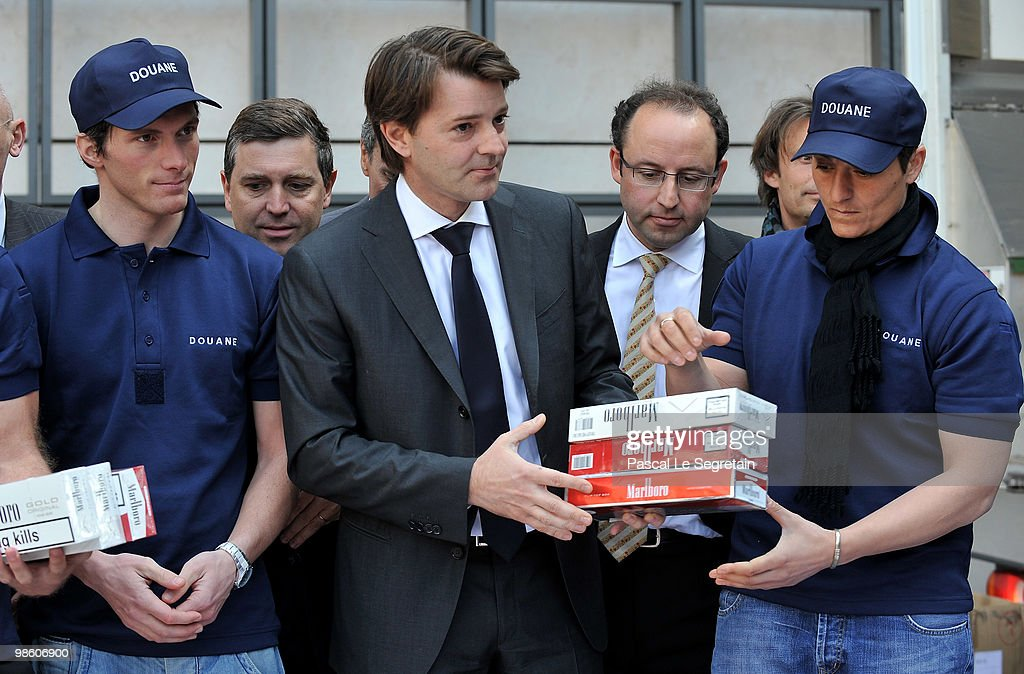 Minister of Budget Francois Baroin Presents Customs Results for Year 2009
