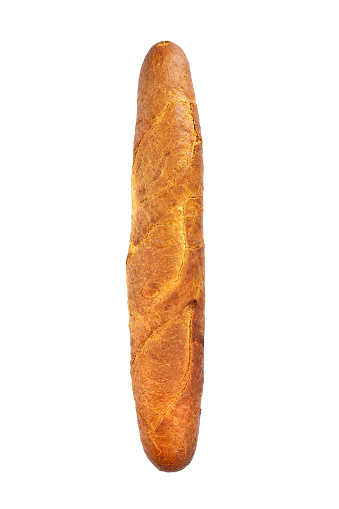 French baguette isolated on white background - gettyimageskorea