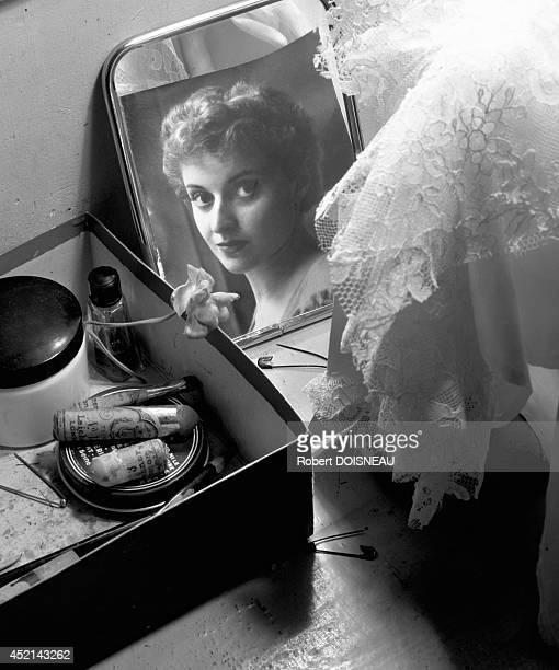 French ballerina Violette Verdy, 1956 in France.