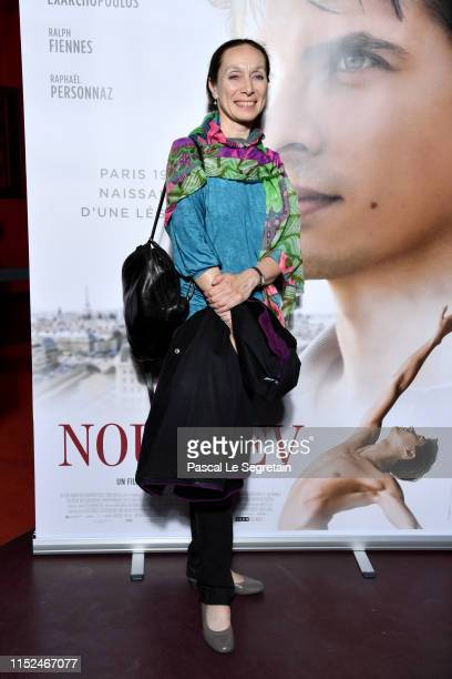 French Ballet Dancer and Teacher Elisabeth Platel attends the Noureev The White Crow Premiere at Cinema Gaumont Opera on May 29 2019 in Paris France