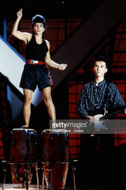 French Band Luna Parker poses during a portrait session in Paris France on