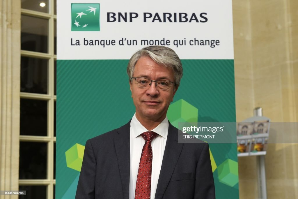 FRANCE-BANKING-RESULTS-BNP PARIBAS : News Photo