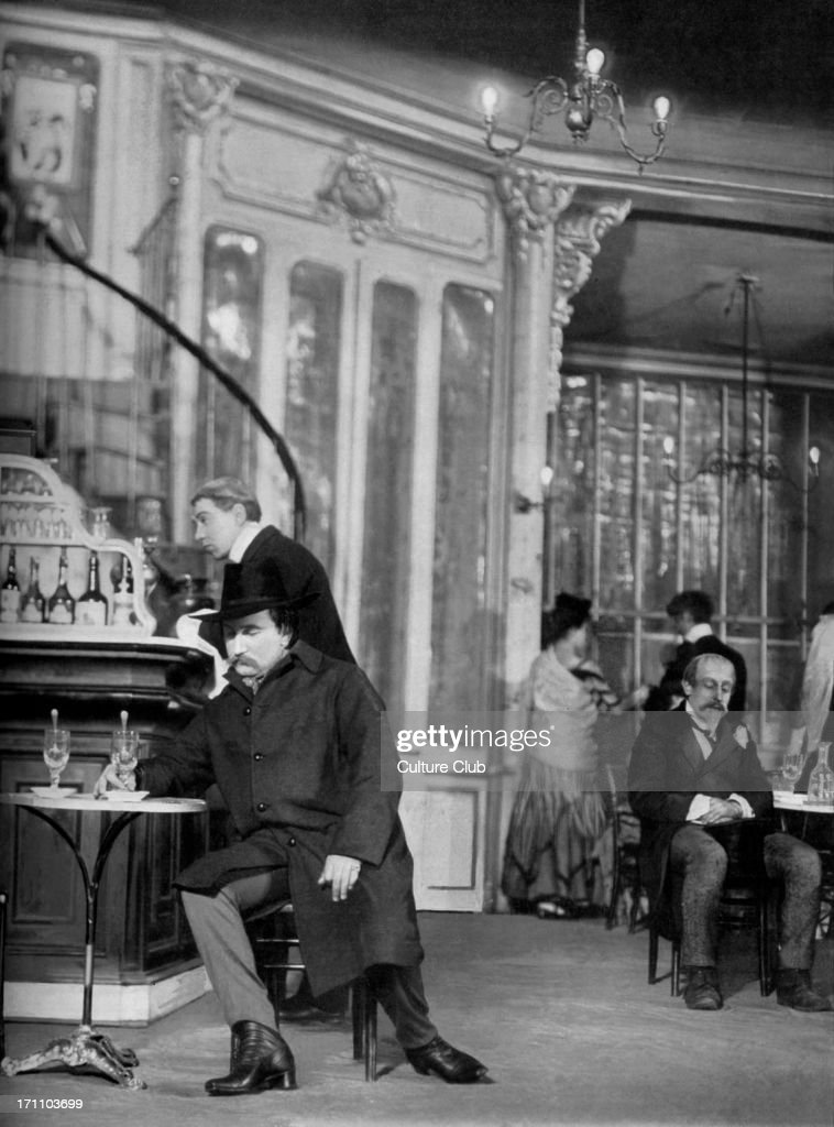 French bar c  1906 Classic French bar scene from Act IV of