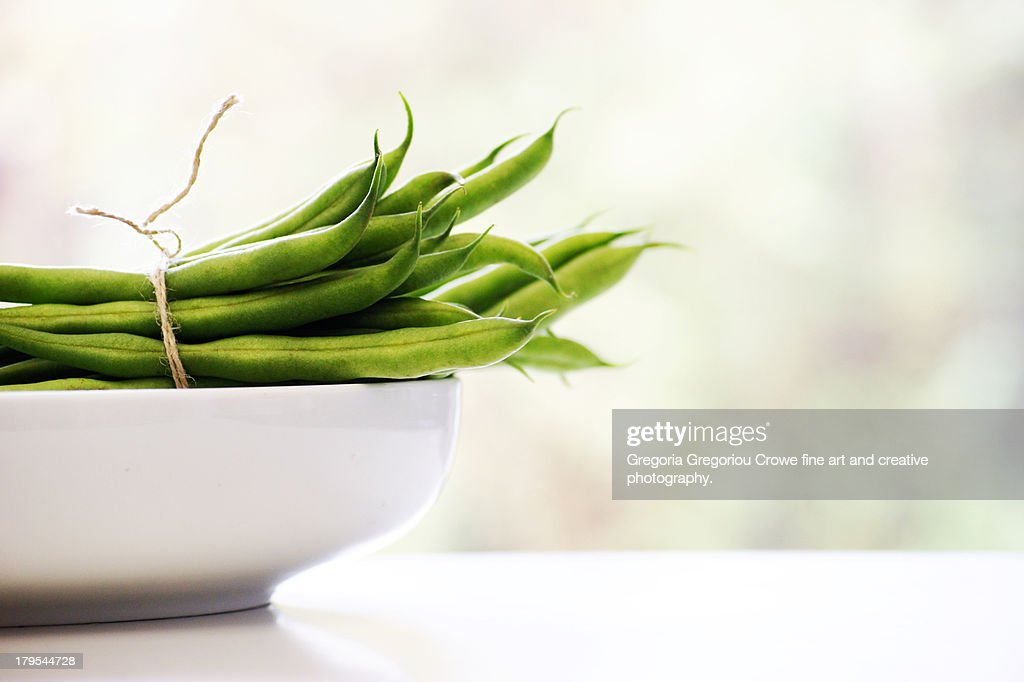 French beans : Stock Photo
