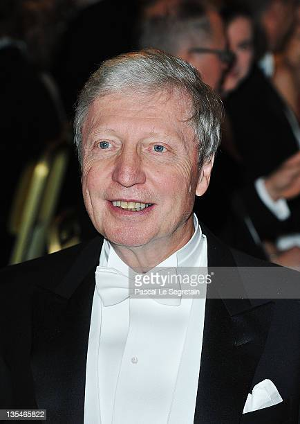 French biologist and Nobel Prize for physiology laureate Jules Hoffmann attends the Nobel Prize Banquet at Stockholm City Hall on December 10 2011 in...