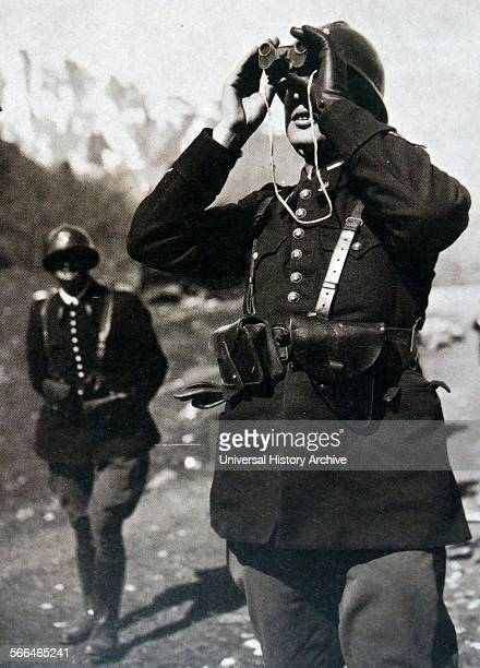 French border troops monitor aircraft on the border with Spain during the Spanish Civil war in which France adopted a nonintervention policy towards...