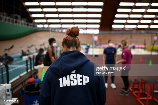 French boxer leave after a complete physical evaluation and checkups and a first training session at the Institut National du Sport de l'Expertise et...