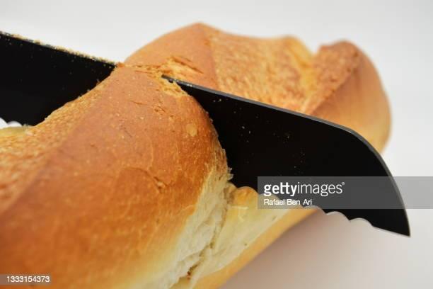 french bread baguette - rafael ben ari fotografías e imágenes de stock