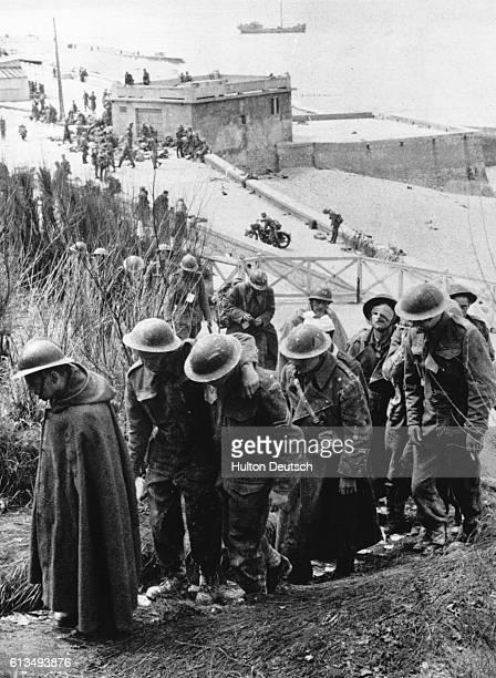 French & British Captives At Dunkirk, May 1940.