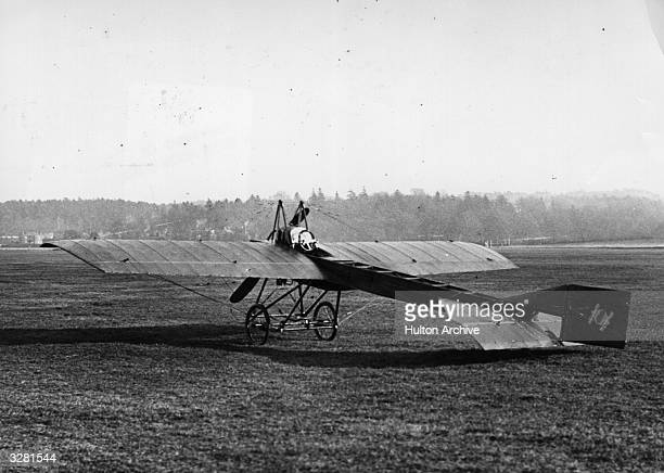 French built Deperdussin monoplane of 1910 at Brooklands