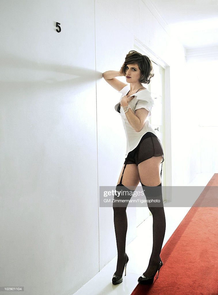 Miss Marion, Madame Figaro, February 2, 2008 : News Photo