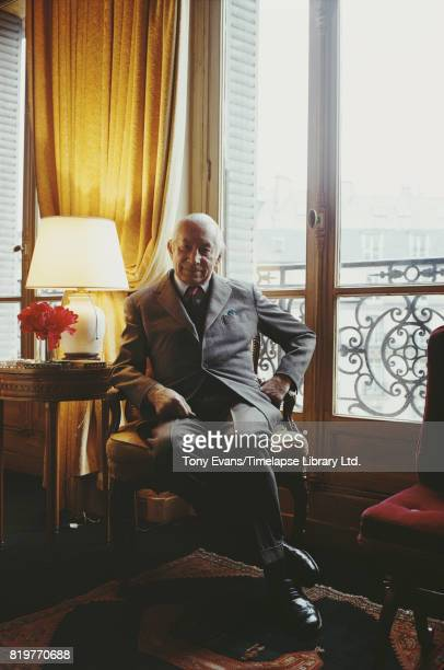 French business man and writer Maurice Goudeket Colette's third husband in 1972