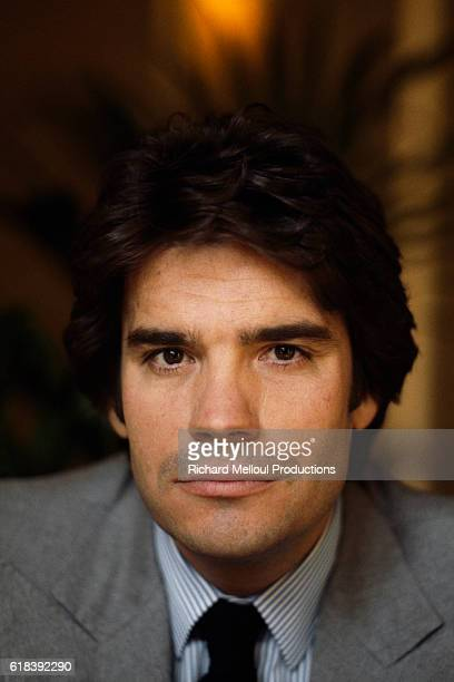 French Businessman and Politician Bernard Tapie