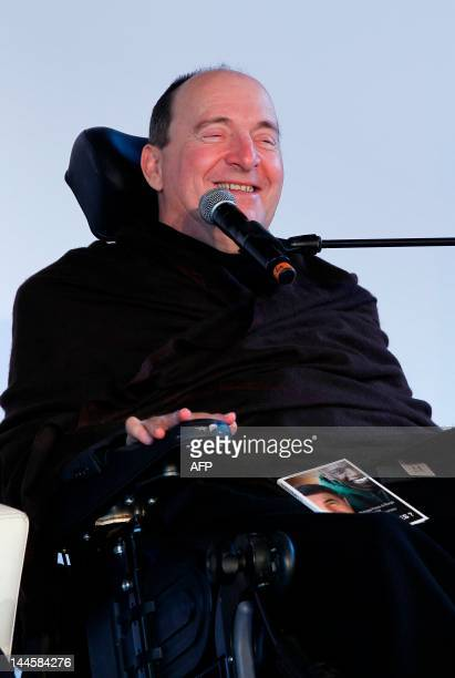 French businessman and writer Philippe Pozzo di Borgo takes part in the launching of the book Tous Intouchables a manifesto upon disability on May 16...