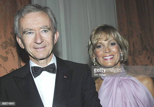 French businessman Bernard Arnault and his wife Helene Arnault arrive at the annual Appeal of Conscience Foundation dinner at the Waldorf Astoria...