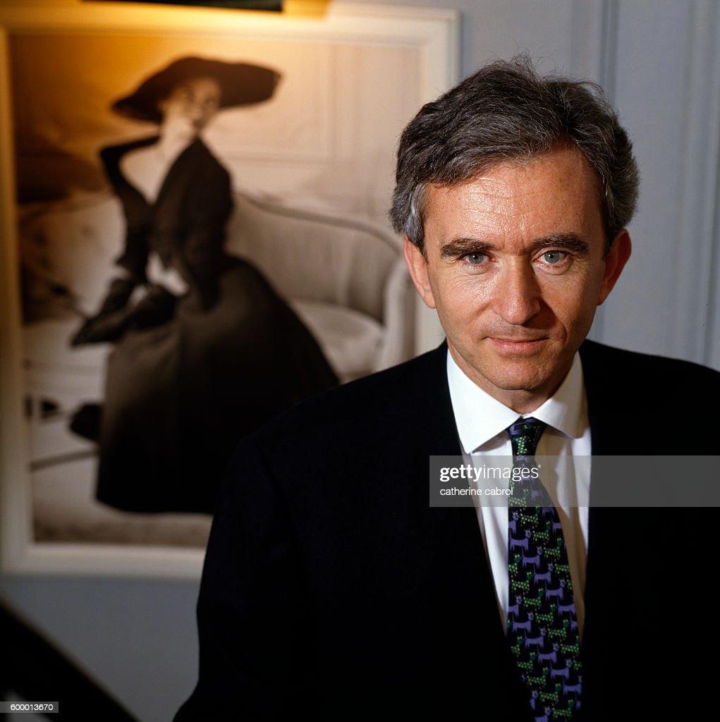 French Businessman Bernard Arnault : News Photo