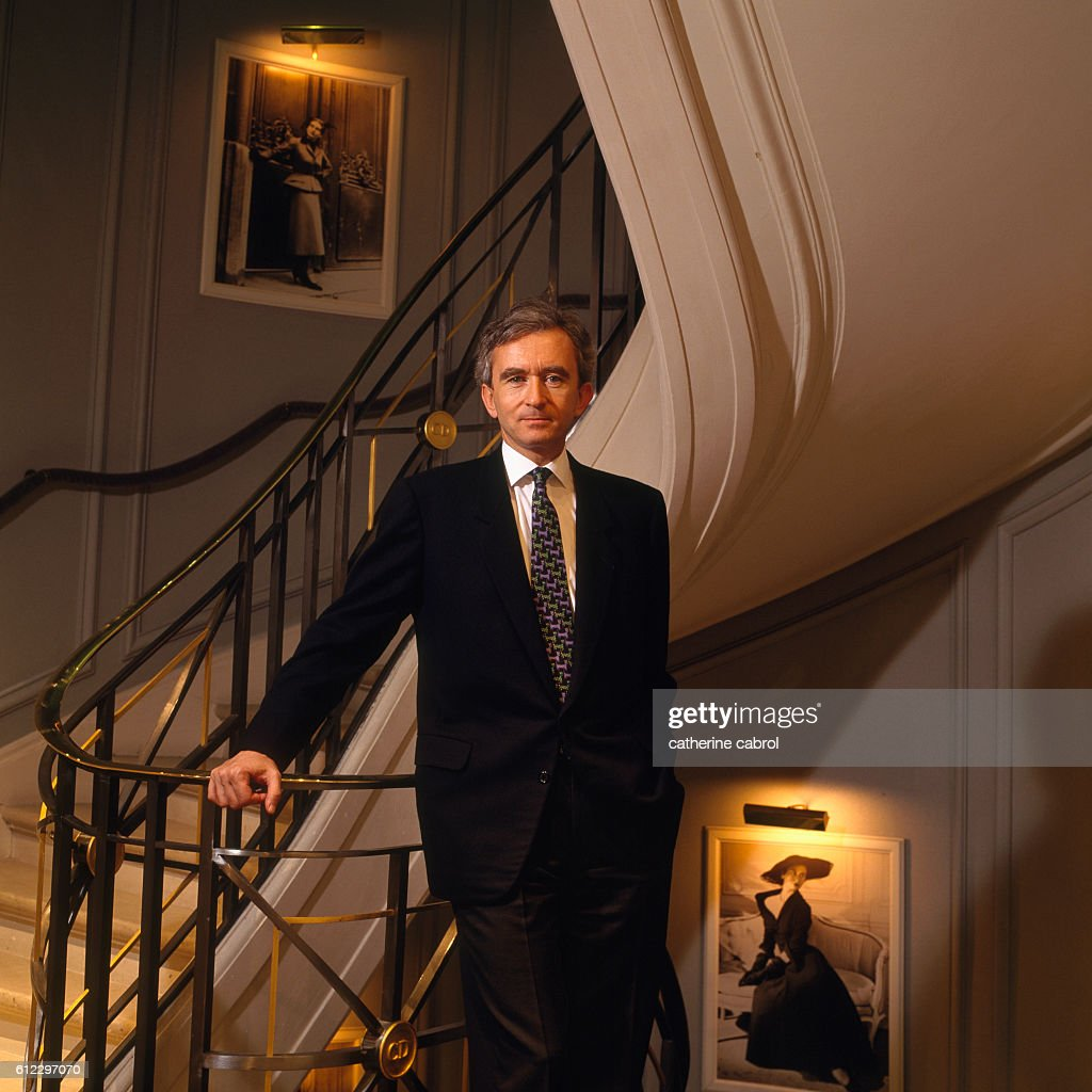 French Businessman Bernard Arnault : News Photo
