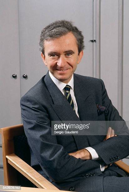 French businessman Bernard Arnault President of the LVMH group