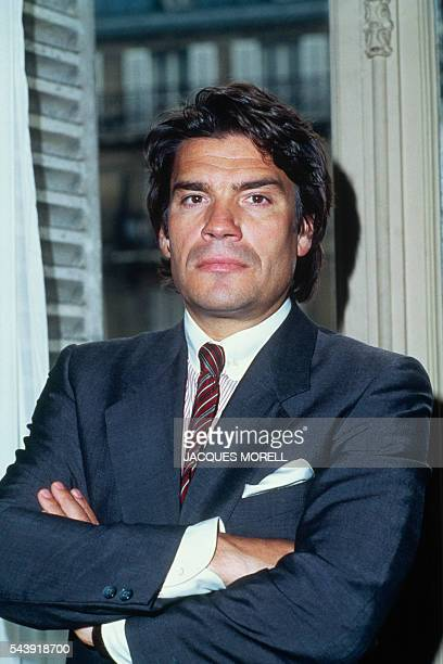 French Businessman Bernard Tapie