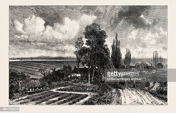 French Canadian Life French Farms Canada Nineteenth Century Engraving