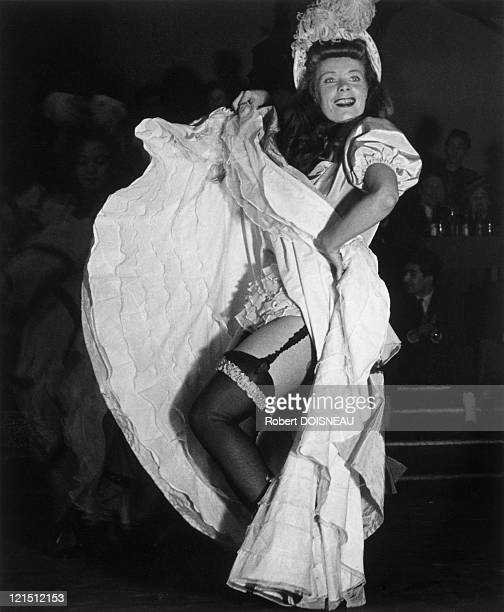 French Cancan At Tabarin Music Hall 1949