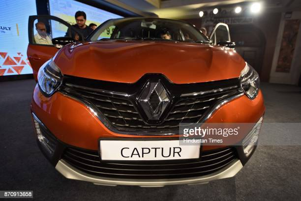 French car makers launched Renault premium sports utility vehicle Captur, which is priced between Rs 9.99 lakh and Rs 13.88 lakh, on November 6, 2017...