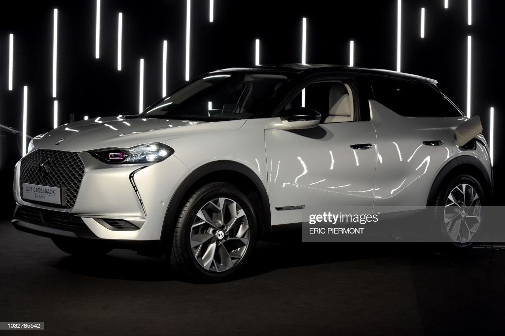 french carmaker ds presents the 100 percent electric ds 3 crossback news photo getty images. Black Bedroom Furniture Sets. Home Design Ideas