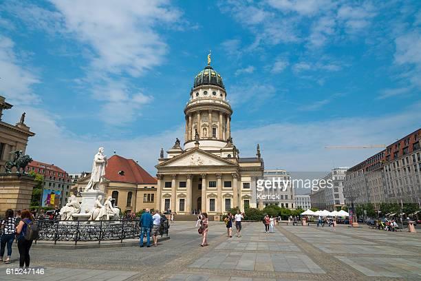 Franzoesischer Dom am Gendarmenmarkt in Berlin, Deutschland