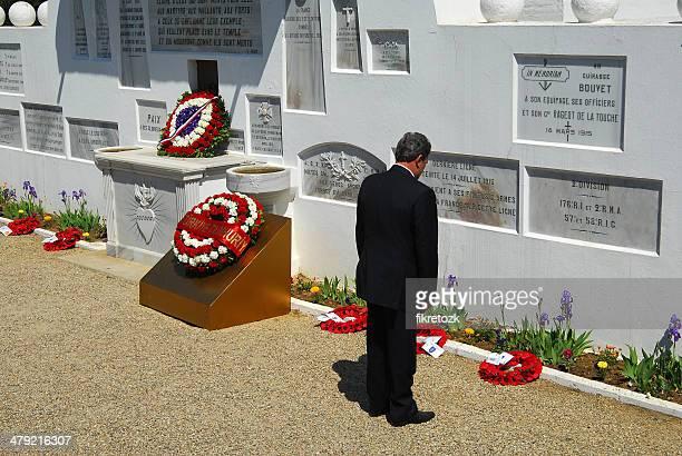 フランス国立墓地と敬意セレモニー - 殉教者 ストックフォトと画像
