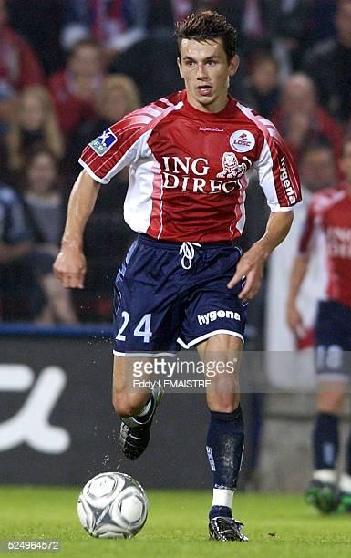 French Championship soccer L1 season 20032004 Lille Olympique Sporting Club Alain Landrin