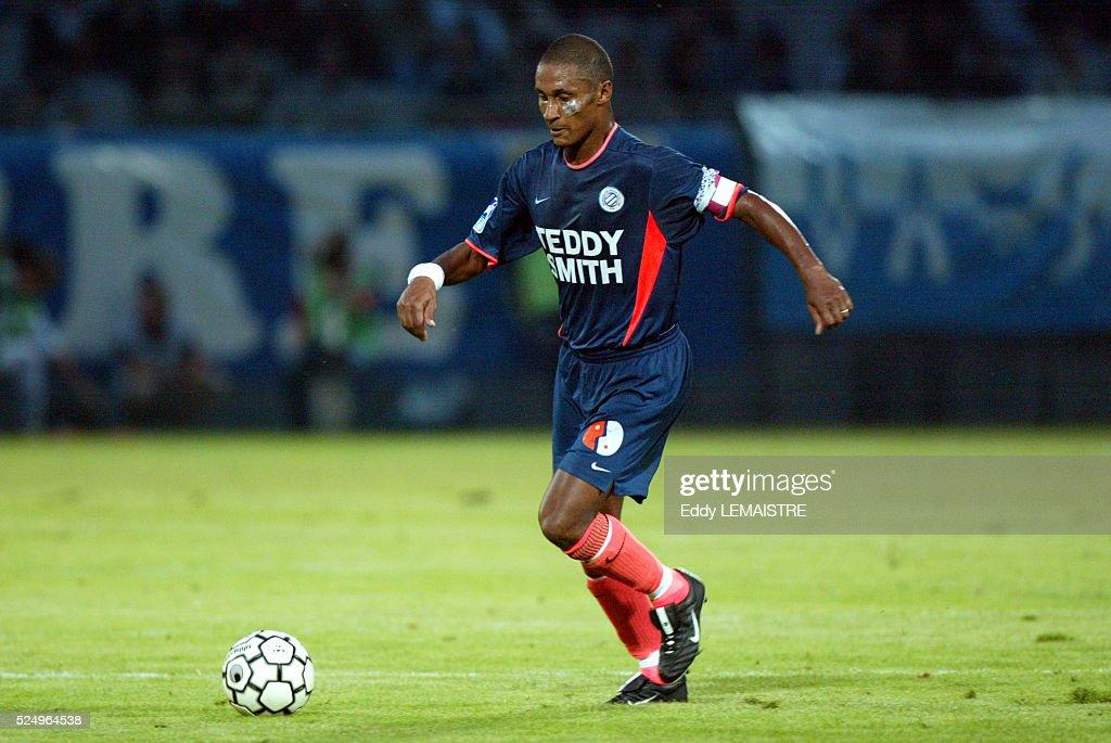 French Championship Soccer L1: Montpellier Herault : Nachrichtenfoto