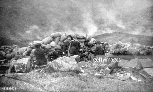 French Chasseurs Alpins fighting in Alsace June 1915 The Chasseurs Alpins are the French Army's mountain infantry