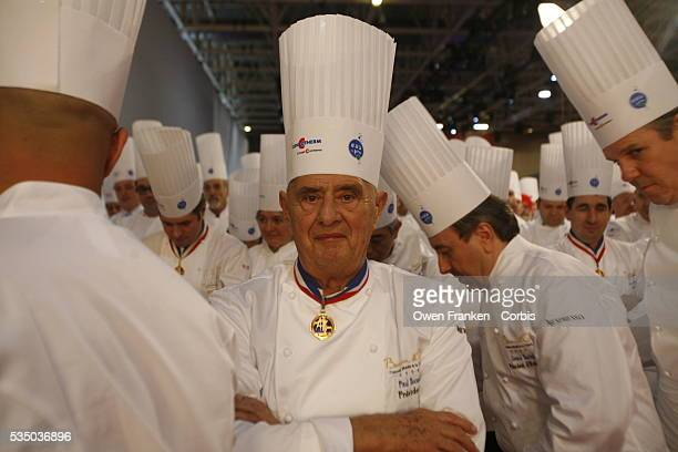 French chef Paul Bocuse at the Bocuse d'Or international cooking contest