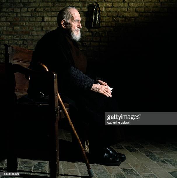 French Clergyman Abbe Pierre