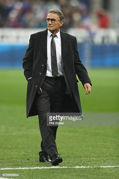 French coach Guy Noves before the international rugby match between France and New Zealand at Stade de France on November 26 2016 in Paris France