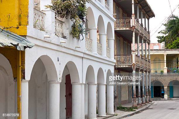 French colonial architecture in Jacmel