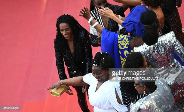 French comedian and humorist Shirley Souagnon FrenchCameroonian MariePhilomene Nga French actress Firmine Richard and the French black women who...