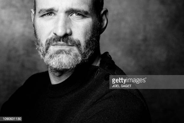 French comic book author Pierre-Henry Gomont poses during a photo session at the 46th edition of the Angouleme International Comics Festival on...