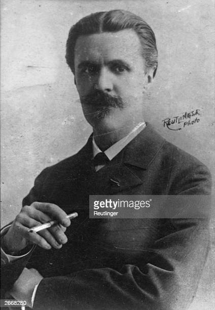 French composer and author Vincent Paul Marie Theodore D'Indy Taught by Cesar Franck at the Paris Conservatoire A founder member of the Schola...