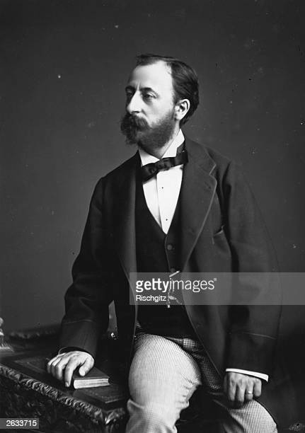 French composer and music critic Charles Camille SaintSaens He wrote symphonies and 13 operas including his bestknown 'Samson et Dalila' five piano...